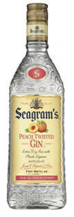 Seagram's Gin Peach Twisted 750ml
